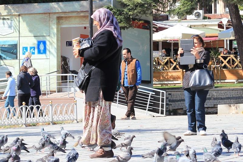 iPad camera in Istanbul