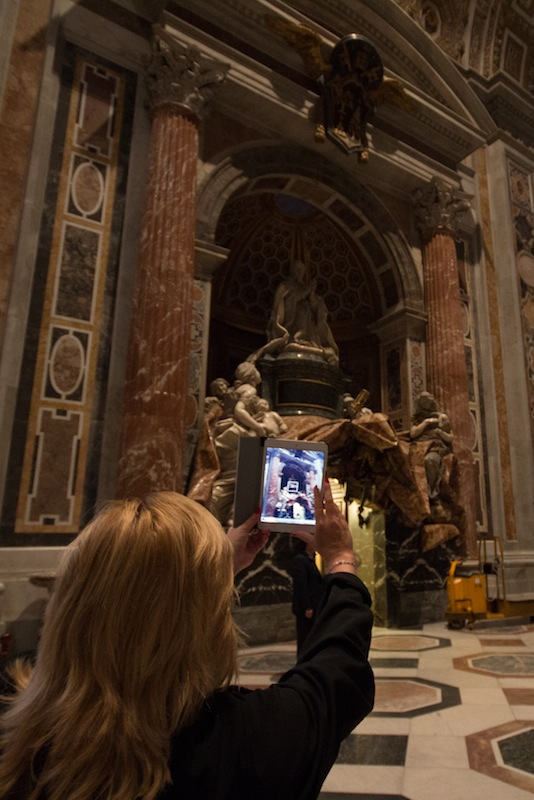 iPad Camera in the Vatican