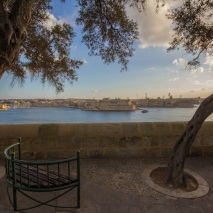 Valletta Park Bench
