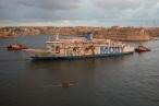 Moby Cruise Ship Malta
