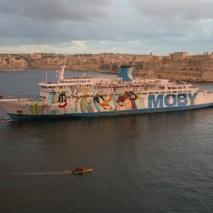 Moby Cruise Ship Malta