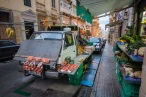 Veggie market in Valletta, Malta.