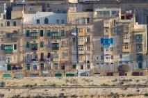 Box windows of Valletta.