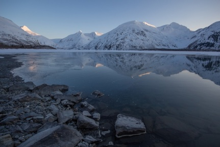 Portage Lake and Alpenglow