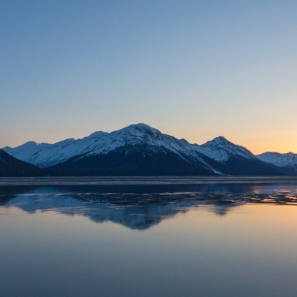 Sunset on Turnagain Arm