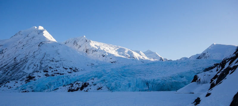 Portage Glacier Winter Hike