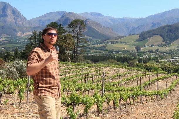 Stellenbosch South Africa Wine Country