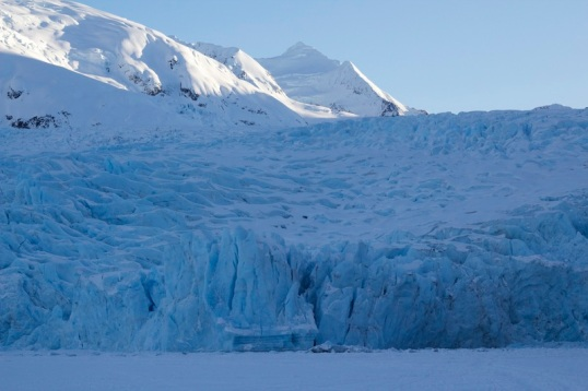 Portage Glacier in the Winter