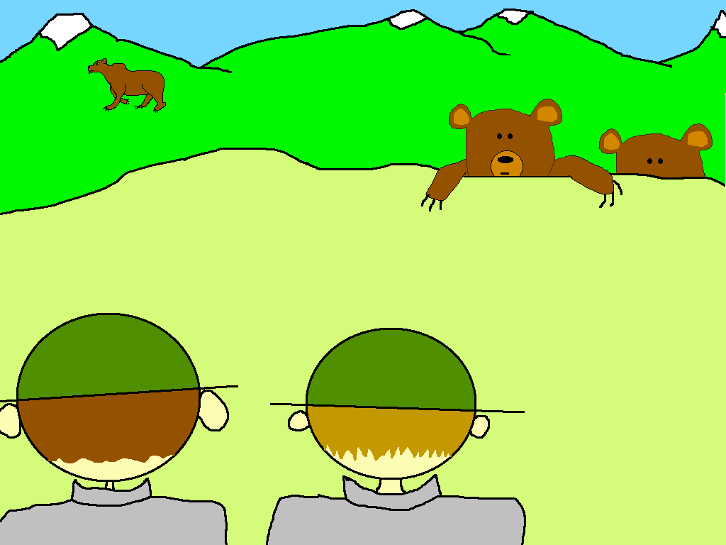 Grizzly Cub cartoon