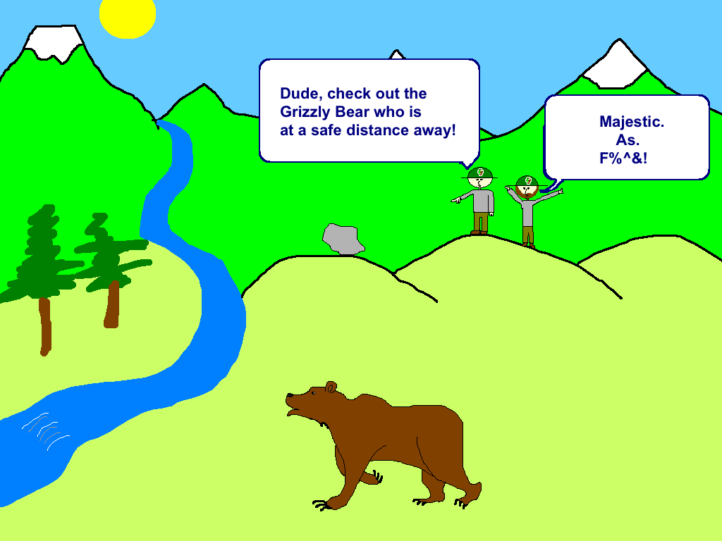 Grizzly Bear Cartoon