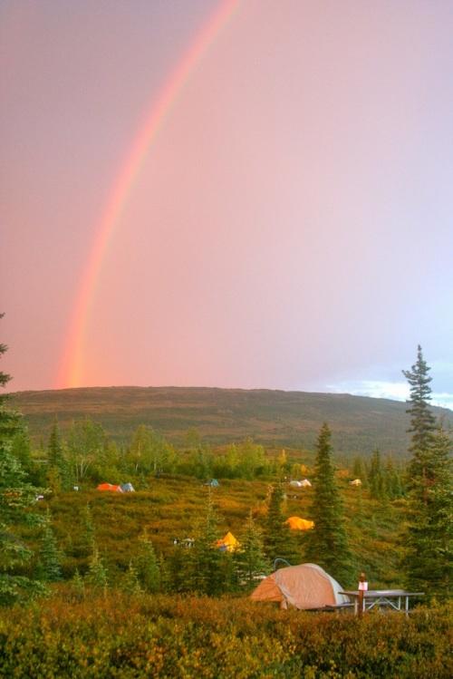 Wonder Lake Rainbow