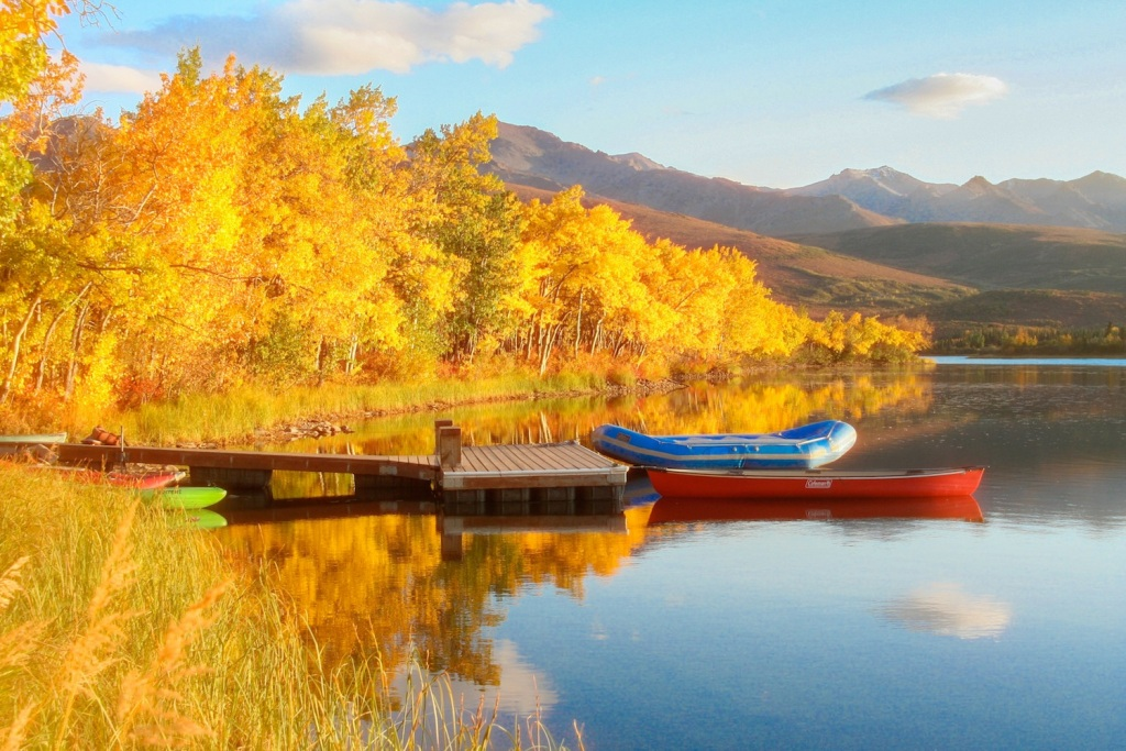 Otto Lake in Autumn