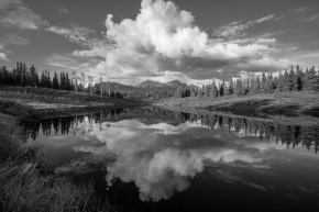 Snapshots of Alaska in Black and White