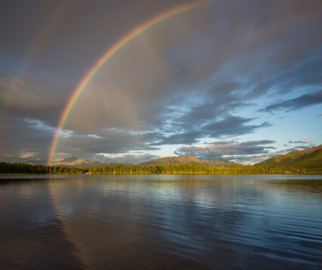 Otto Lake Rainbow