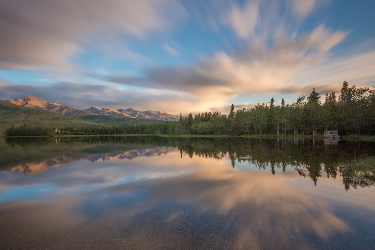 Otto Lake with Neutral Density Filter