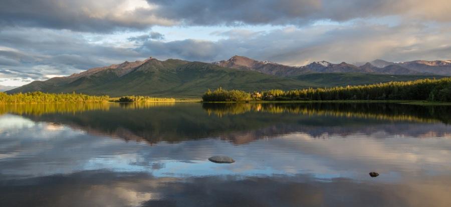 Otto Lake Evening