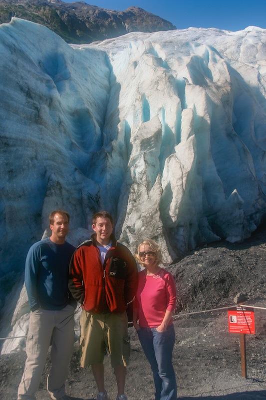 Exit Glacier melting