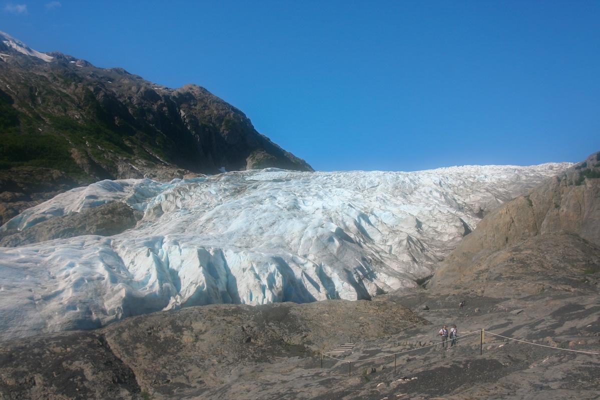 Exit Glacier in 2007, Seward Alaska