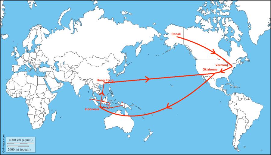 2014 Travel Plans