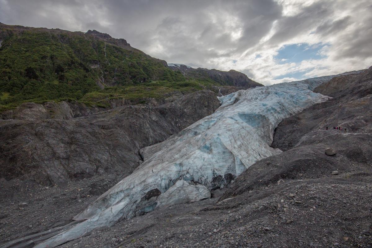 Exit Glacier in Seward, 2014