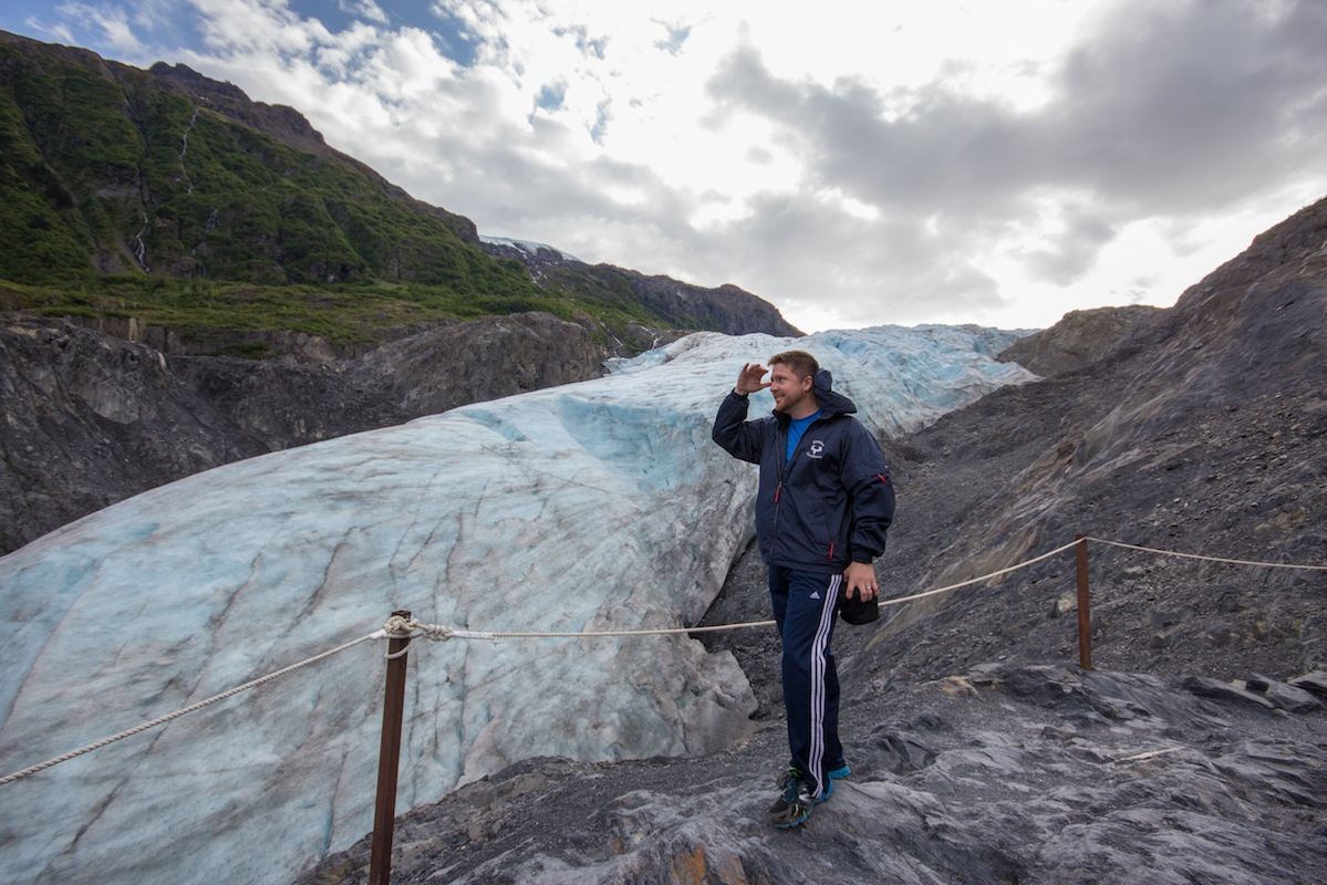 Exit Glacier Seward melting