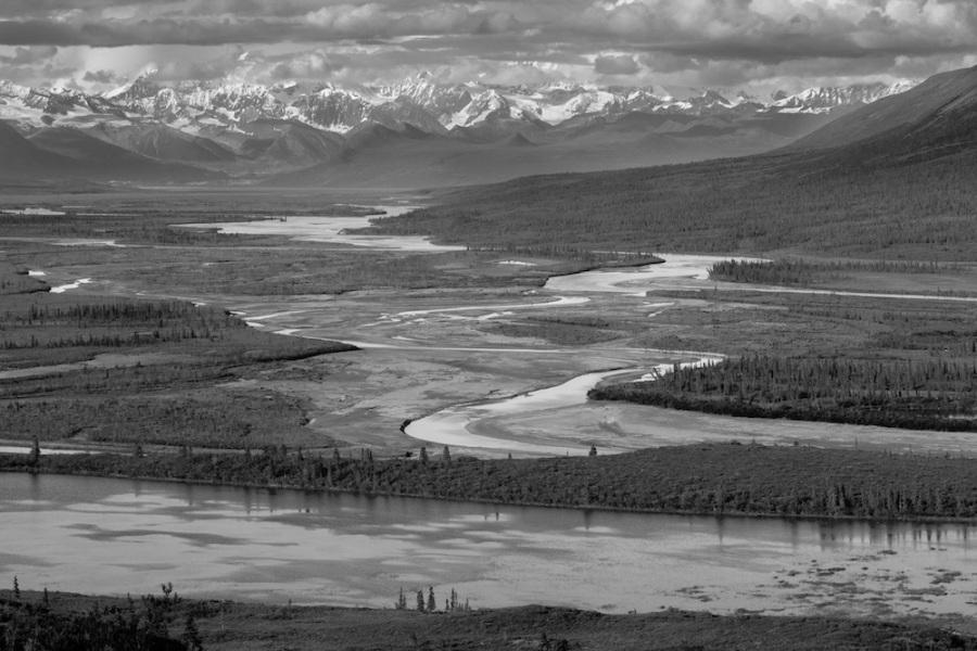 Alaska Range viewpoint Denali Highway