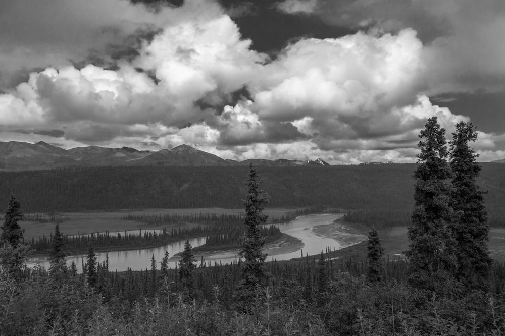 Nenana River on Denali Highway