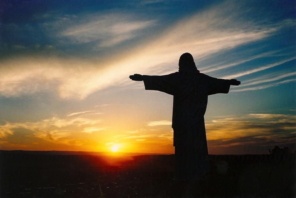 La Cumbre Christ Statue