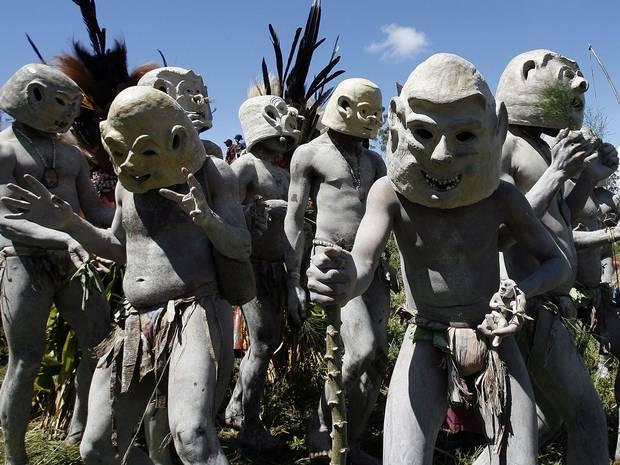 Cannibals in Papua