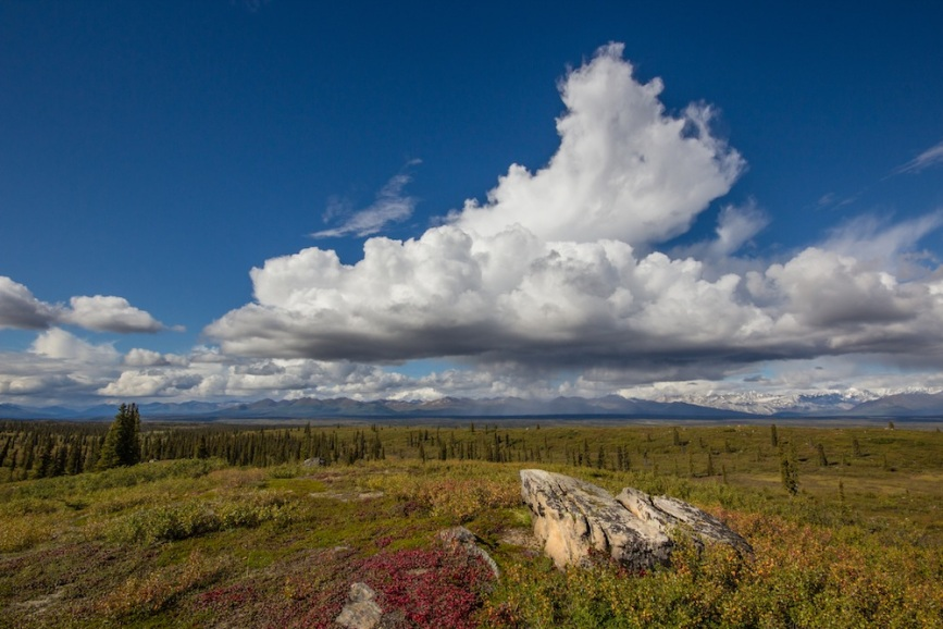 Clouds over Denali HIghway