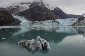 Iceberg at John Hopkins Glacier