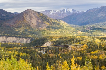 Alaska Railroad Riley Creek