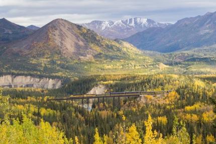 Alaska Railroad Riley Creek
