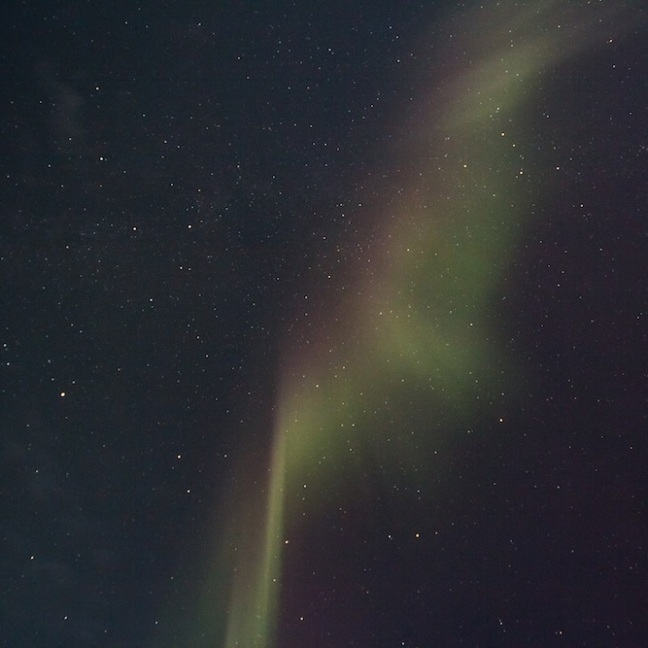 Northern Lights Arena Stampede: Photos From The Awesome Aurora Show On Sept 12, 2014, That