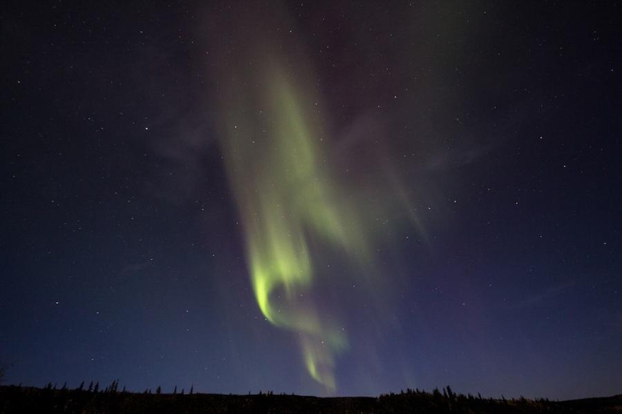 Aurora Borealis Near Denali