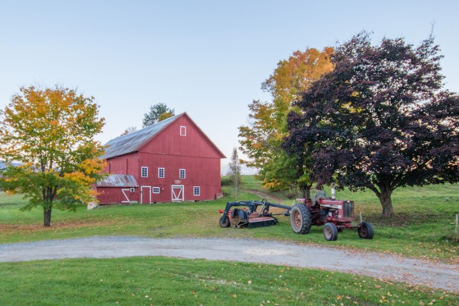 Red Barn Vermont