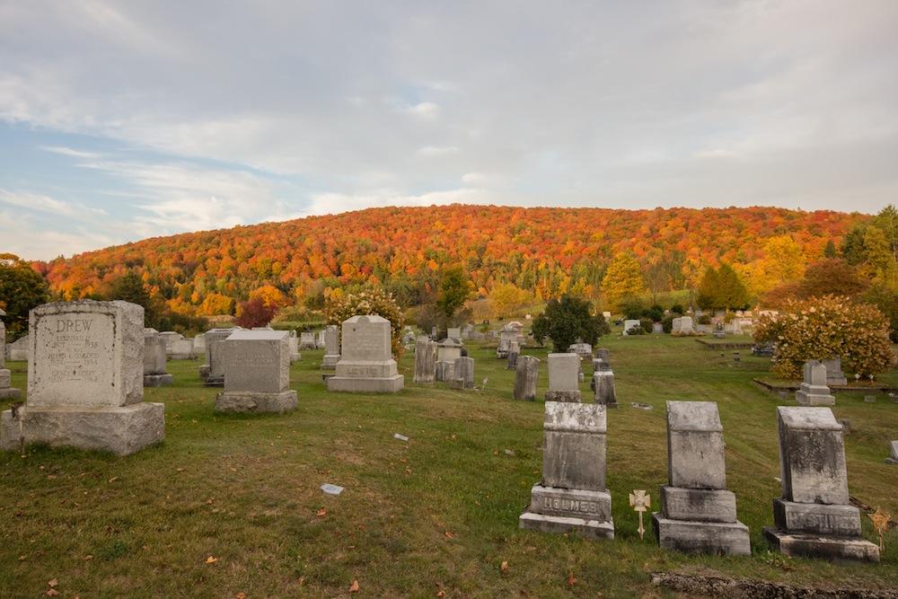 Westlook Cemetery in Vermont