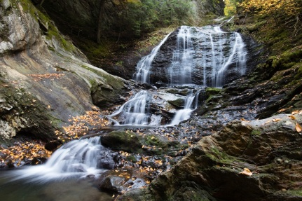 Moss Glenn Falls near Stowe