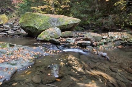 Creek below Moss Glenn Falls