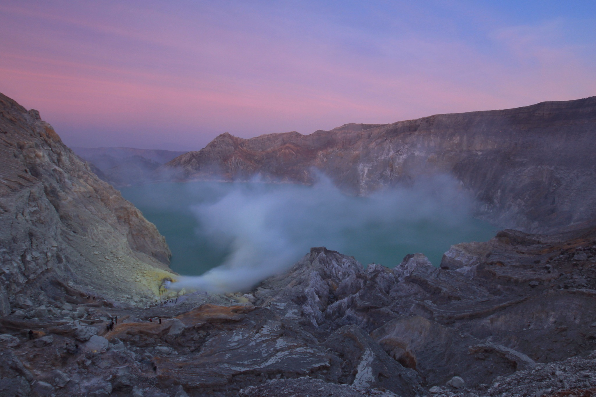 Surreal Ijen Sunrise