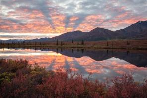 Broad Pass Sunset, Alaska