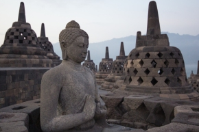 Borobudur Photo Essay, or Some Things are Worth Waking Up EarlyFor