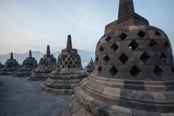 Borobudur Stupas