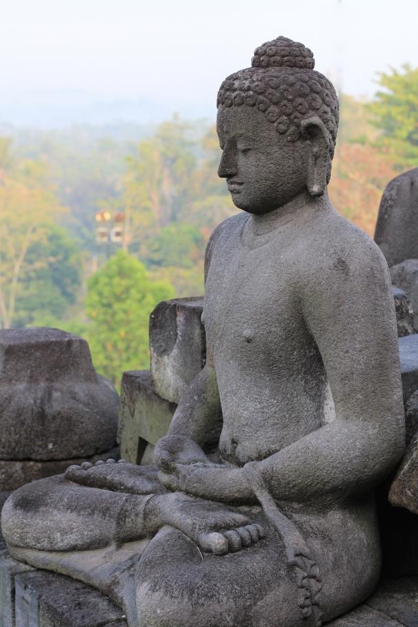Buddha, just kickin it