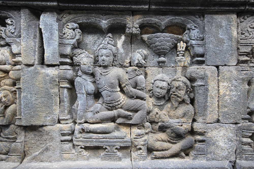 Carvings on Borobudur