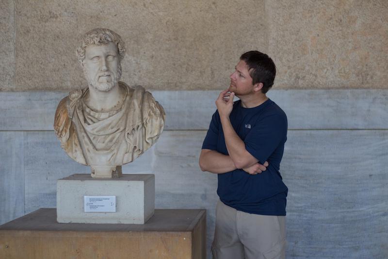 Jeff in Greece