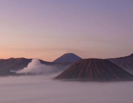 Mt. Bromo at sunrise