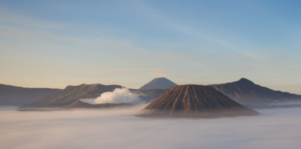 Sunrise at Mt. Bromo