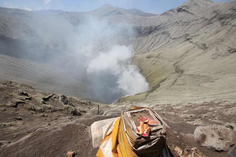 Offerings for Bromo