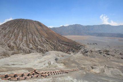 View from Bromo Crater
